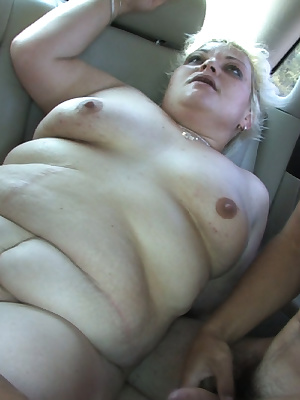 This chubby mature slut loves sucking cocks