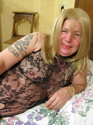 This old horny slut will show you a thing or two