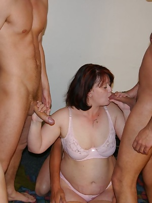This wild bunch love fucking two innocent mature sluts