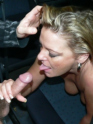 We just love a big titted matue slut sucking our cocks