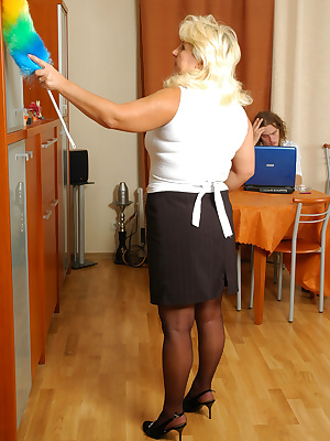 Rosemary&Mike lessons of pantyhose sex