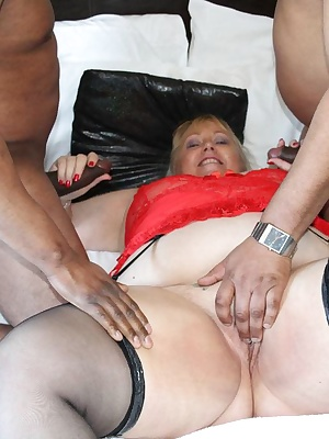 Hi GuysIt was my turn to have both Neil and Gary all to myself.To hard black cocks to suck and hold, while my tits and p