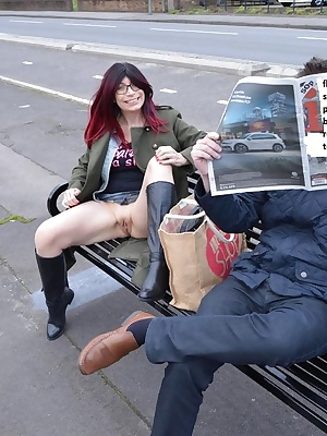 Barby gets her bristols out in Bristol and then meets a lucky fan for some fun.