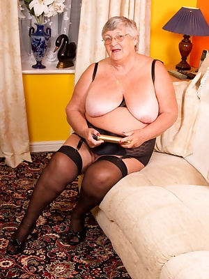 Once again Grandma Libby visits her special friend auntie Trisha for some sexy lesbian fun.  Come see us pleasure each o