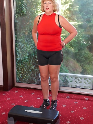 Hi Guys Im Lady Rosemary and I do like to Keep Fit so regular exercise is the key so a good workout every morning is ess