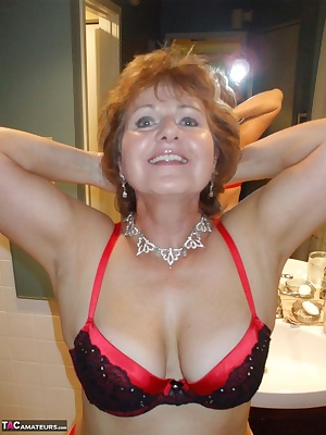 It was a kinky Sunday and my boy toy and I were having fun as I was modelling my red and black lingerie I came into the