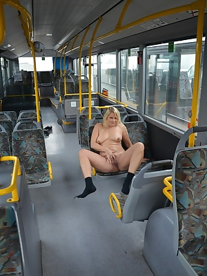 I love Yes the NUDIST and if it is possible I will always love all nude pictures for you. Like this on the bus. Where I