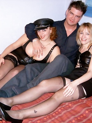 Double the leather fun with both Suzy and Scott. Claire xx