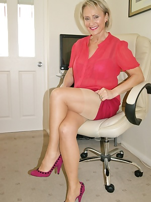 Dangerous in red this week, and has you will see for yourself this MILF gets her fair share of cock and the rewards of t