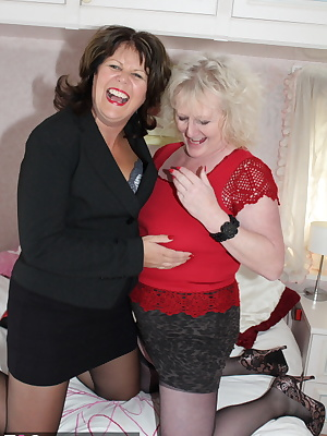 Two hot TAC amateur Milfs get down and dirty on the bed as Claire Knight and I enjoy lots of lesbian fun with each other
