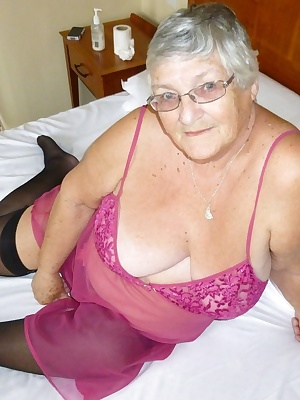 Naughty Grandma Libby with a cock  Yes, I have a strap-on  but nobody to use it on.  Come on in and see what you are mis