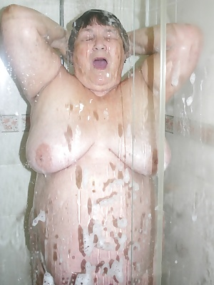 I just love warms water so taking a shower is a sheer delights.  I find it so erotic to feel the water trickling down ov