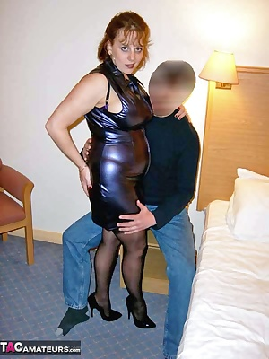 A bit of PVC was all it took to get this guy fired up when I met him at his hotel room for some fun. Claire xx
