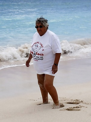 Granny loves this tee-shirt because it says it all  I do love a big cock to wake me up in the morning  Come join me here