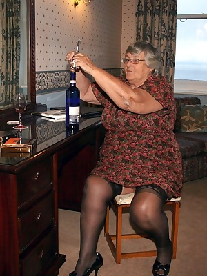 Another night in the same hotel room and all by myself again. Just grandma and a bottle of wine  not even a dildo to pla