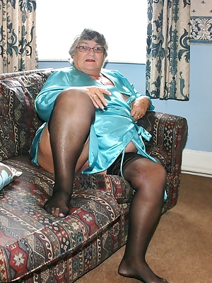 More satin  this time bright turquoise but with nothing underneath except black sheer stockings and my own luscious BBW