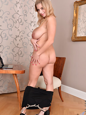 All natural housewife Katarina Hartlova is ready to rock your world! She's a bigtit beauty with long blonde hair and a set of knockers that you'll want to bury your face between. She's also always horny and eager to cum, so don't be surprised when her dre