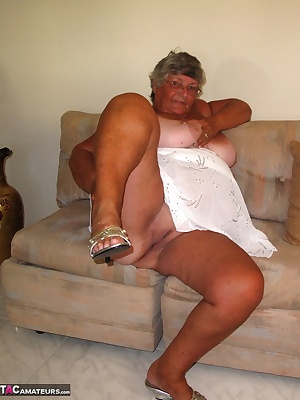 Granny with a tan  Do you like my tan lines  You can see that you are privileged to see all the bits I keep covered up