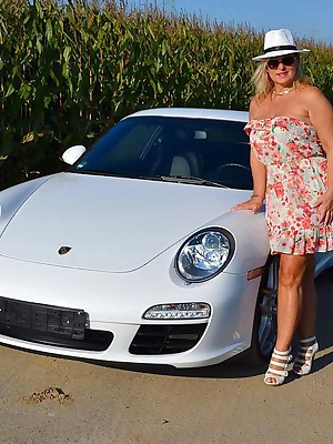For one day I could drive with that Porsche car. It is a real