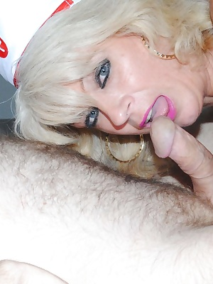 More pictures of Naughty nurse Di and her patient Martin now getting down and naughty.