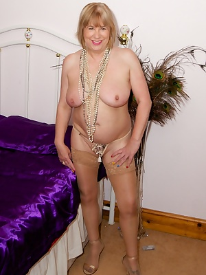 Hi Guys, Not wearing much for this shoot, just my Beads and a pair of sexy crotch less knickers bought for me by a clien
