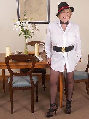 Hi Guys, I had got in Trouble with the Law and Constable Honey had been sent to arrest me, but she insisted on a strip s