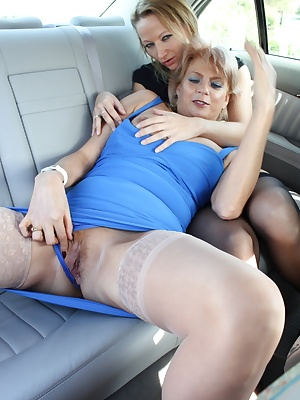 Me and Claire get naughty in my car