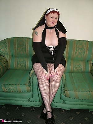 This nun has always wanted to show you you what's underneath her habit. Join me and find out.