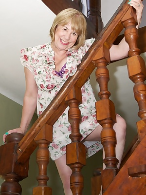 Hi Guys Heres a photo set of me stripping off on the Stairs and Sofa at my Holiday Villa in the South of France.Speedybe
