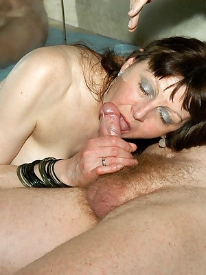 Last cock to suck during my 4-way gangfuck I get the guy to lie back and enjoy it He gets the blowjob of his life then s