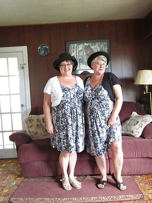 Girdlegoddess, and Mistress Sue In our matching sexy sun dresses. So naughty and so nice we are. That Mistress has a sur