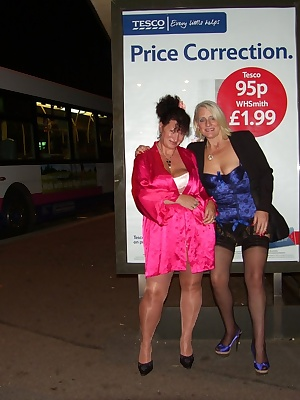 Me  Carol are together again  this time we are out in Colchester walking around in are sexy underwear, we had a great la