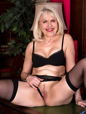 United Kingdom granny Margaret Holt is ready to be your sexual fantasy! At 64, she's a mature woman who's been around the block and knows what she wants. Her big breasts are yours to squeeze and her greedy twat with its landing strip of hair is yours to s