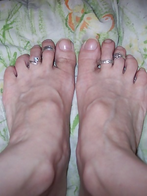 this update is for foot lovers...i love to get my feet on something soft then make it hard enough to play with.
