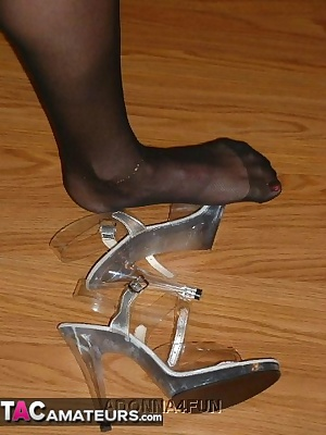 You liked the feet, legs and shoes - so here's more - enjoy your fetish