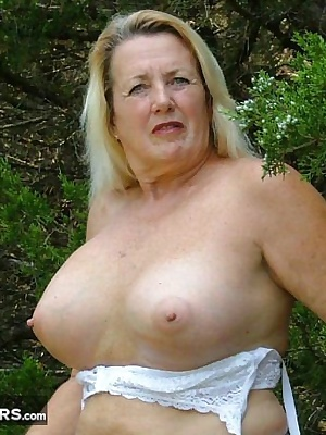 Playing in the park in tank top and mini skirt - getting down to lace bra and panties - making camel toes for you.