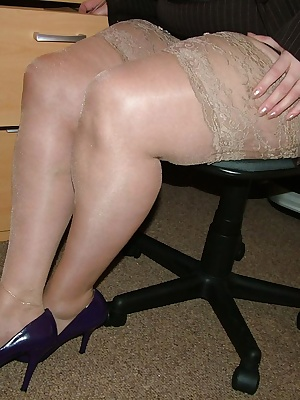 You can see lots of my sexy nude nylons in this, as special attention is given to my legs.