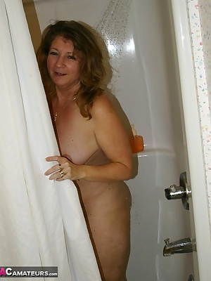 Devlynn gets caught showering for a fresh day of photos.lots of bare ass naked shots.