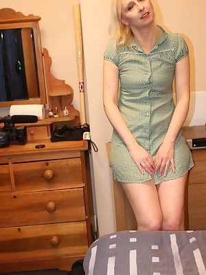 I love to get out the gingham school dresses to wear.So young and innocent yet literally gagging for cock.I love to get
