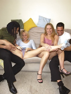 My lover brought a few mates round for some great fun.  We had a whole afternoon of fucking