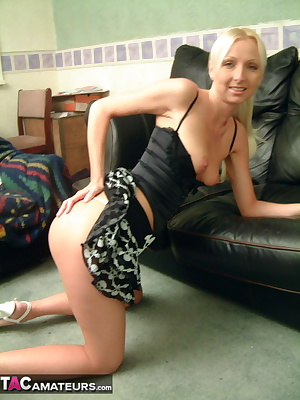Want to see a punky little blonde taking a huge cock up the arse    Course you do,and as usual,naughty little Tracey is