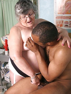 Grandmas nursing skills are called for here as her patient is complaining of pain in his balls Some careful examination
