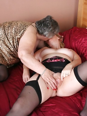 Once again Grandma gets together with her very good friend and girly fuck buddy Chloe.  We have such a good time licking