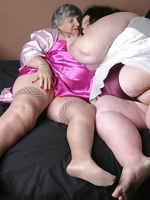 If you like SUPER BBW you and in for a treat as Grandma gets together with Lisa.  Lisa is a whole lotta woman to get hol