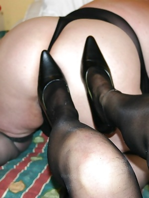 My friend Topaz and I were feeling bored one afternoon so we got dressed in our black basques and stockings and had some