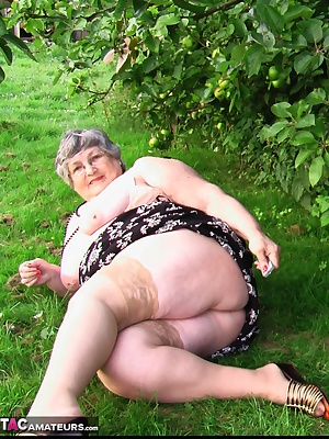 Relaxing in the Kent countryside under the apple trees  Not quite private enough to sunbathe in the nude but I still hav