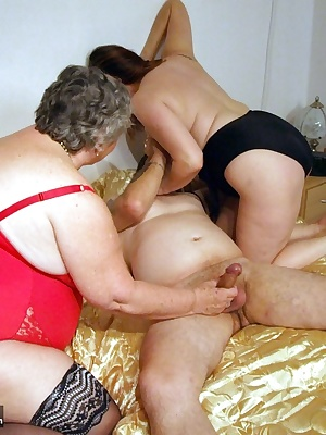 Sharing a good hard cock with my friend Topaz.  This fella is in his element as we both suck him and lick his balls befo