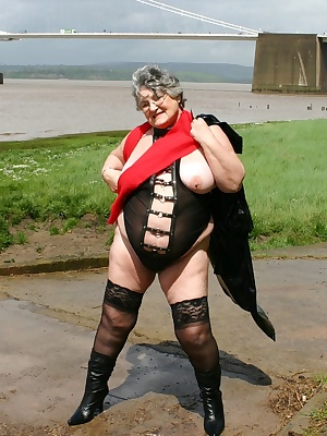 Cum join me by the riverbank.  You dont expect to see a near-naked grandma taking a walk but  I love getting back to nat