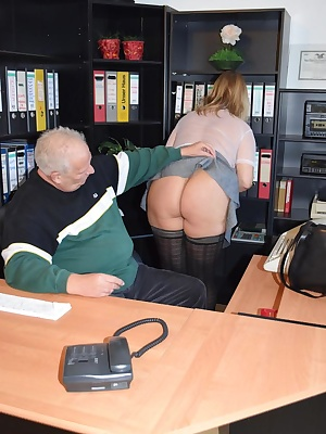 In the office I may not wear any panties or bras. My boss likes it to see my nipples. He often lift my skirt of and touc