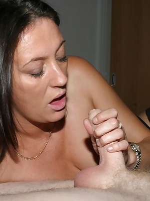 More multi-cock gangbang action from your very own Juicyjo.